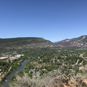 View from Animas Mountain Trail System