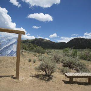 Biking on the Horse Gulch Trail System near Durango, CO
