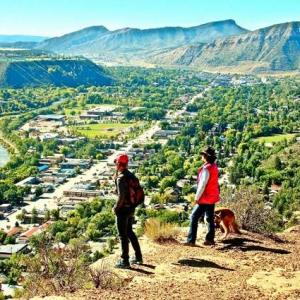 Looking towards Durango from Animas Mountain Trail